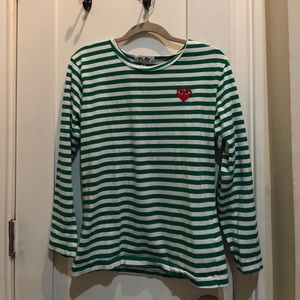 Commes des Garcons long sleeve tee